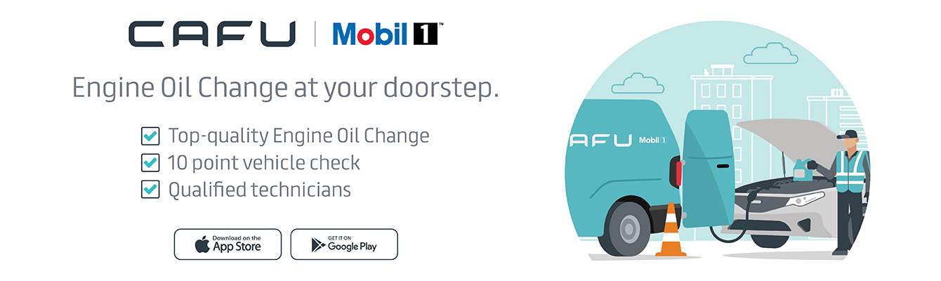 Mobil 1 Oil Change with Cafu